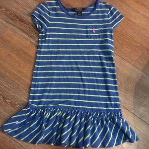 Polo Ralph Lauren girls striped dress